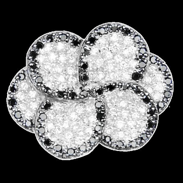 Купити підвіску фіаніт 8П1040 – Срібний шлях