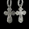 Купити Підвіску хрест 3П60, пробою 925