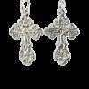 Купити Підвіску хрест 3П120а, пробою 925, срібло для жінок та чоловіків