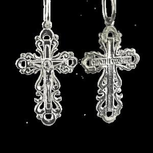 Купити Підвіску хрест 3П155, пробою 925, срібло для жінок та чоловіків