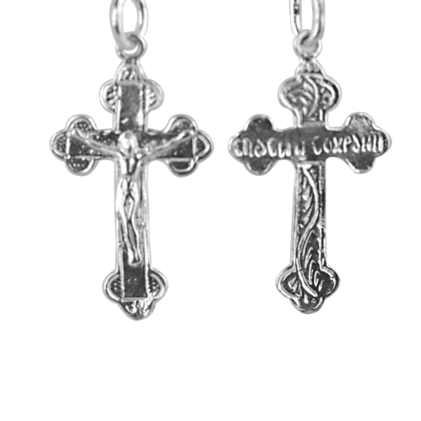 Підвіску хрест 3П180, пробою 925, срібло для жінок та чоловіків