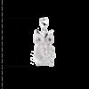 купити Підвіску сова оздоблений фіанітами 6П340, проба 925