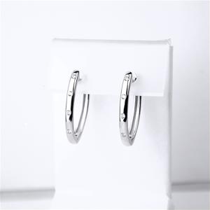 Срібні сережки конго
